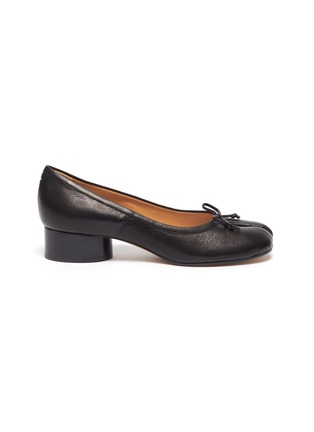Main View - Click To Enlarge - MAISON MARGIELA - Soft Leather 'Tabi' Pumps