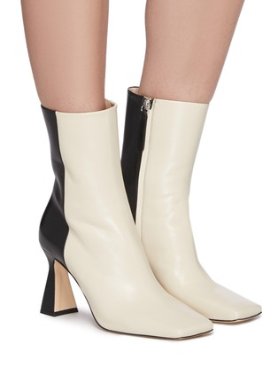Figure View - Click To Enlarge - WANDLER - Isa' Leather Ankle Boots