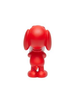 Detail View - Click To Enlarge - LEBLON DELIENNE - Snoopy Heart Sculpture – Matt Red/White