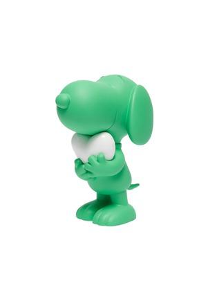 - LEBLON DELIENNE - Snoopy Heart Sculpture – Matt Green/White