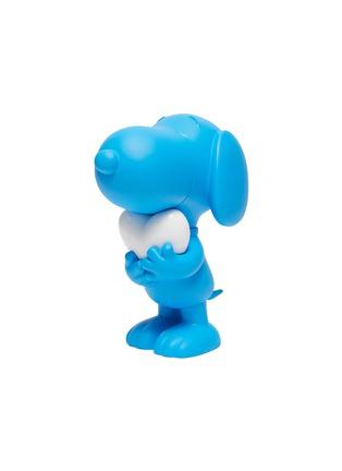 - LEBLON DELIENNE - Snoopy Heart Sculpture – Matt Blue/White