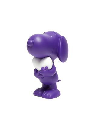 - LEBLON DELIENNE - Snoopy Heart Sculpture – Matt Purple/White