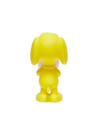 Detail View - Click To Enlarge - LEBLON DELIENNE - Snoopy Heart Sculpture – Matt Yellow/White
