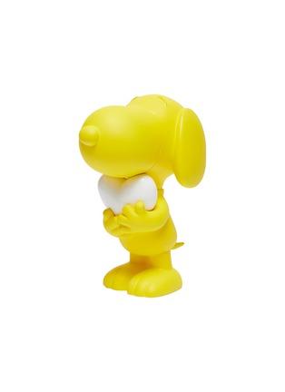 - LEBLON DELIENNE - Snoopy Heart Sculpture – Matt Yellow/White