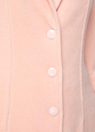 - ALEXANDERWANG - Stretch velour blazer
