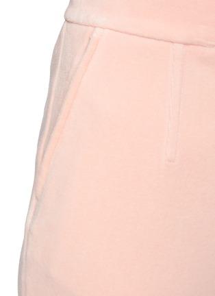 - ALEXANDERWANG - Stretch velour suiting pants