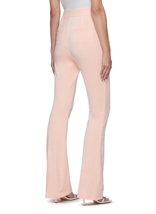Back View - Click To Enlarge - ALEXANDERWANG - Stretch velour suiting pants
