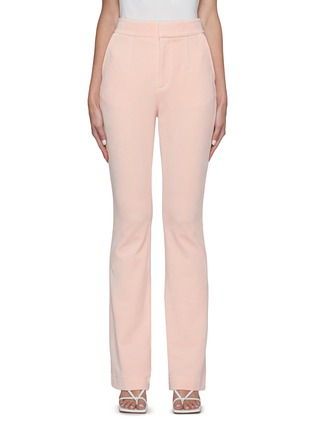 Main View - Click To Enlarge - ALEXANDERWANG - Stretch velour suiting pants