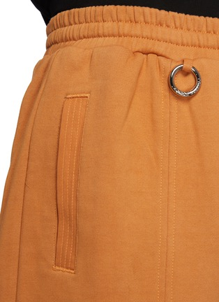 - PRIVATE POLICY - Metal Ring Detail Drawstring Waist Sweatpants