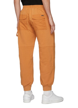 Back View - Click To Enlarge - PRIVATE POLICY - Metal Ring Detail Drawstring Waist Sweatpants