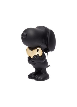 - LEBLON DELIENNE - Snoopy Heart Sculpture – Matt Black / Chromed Gold
