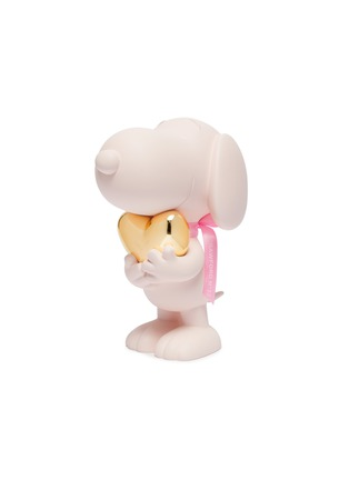 - LEBLON DELIENNE - Snoopy Heart Sculpture – Matt Pink / Chromed Gold