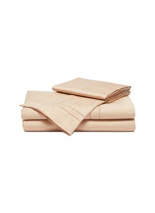 - FRETTE - Doppio Ajour Queen Size Duvet Set – Powder Pink