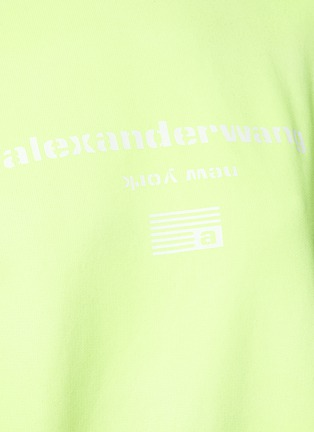 - ALEXANDERWANG - Terry' Garment Dye Sweatshirt