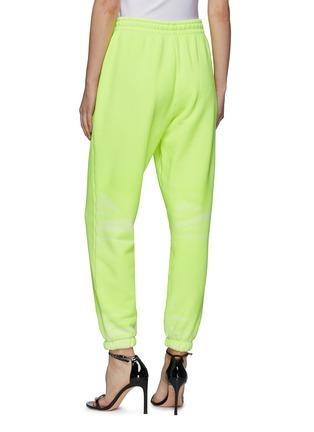 Back View - Click To Enlarge - ALEXANDERWANG - Garment Dye Terry Cotton Drawstring Sweatpants