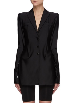 Main View - Click To Enlarge - ALEXANDERWANG - Active Stretch Blazer