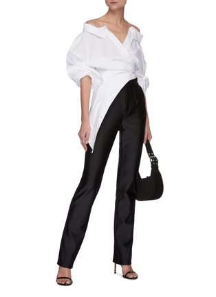 Figure View - Click To Enlarge - ALEXANDERWANG - Active Stretch Bodycon Pants