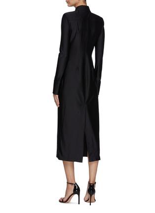 Back View - Click To Enlarge - ALEXANDERWANG - Collared Shirt Dress