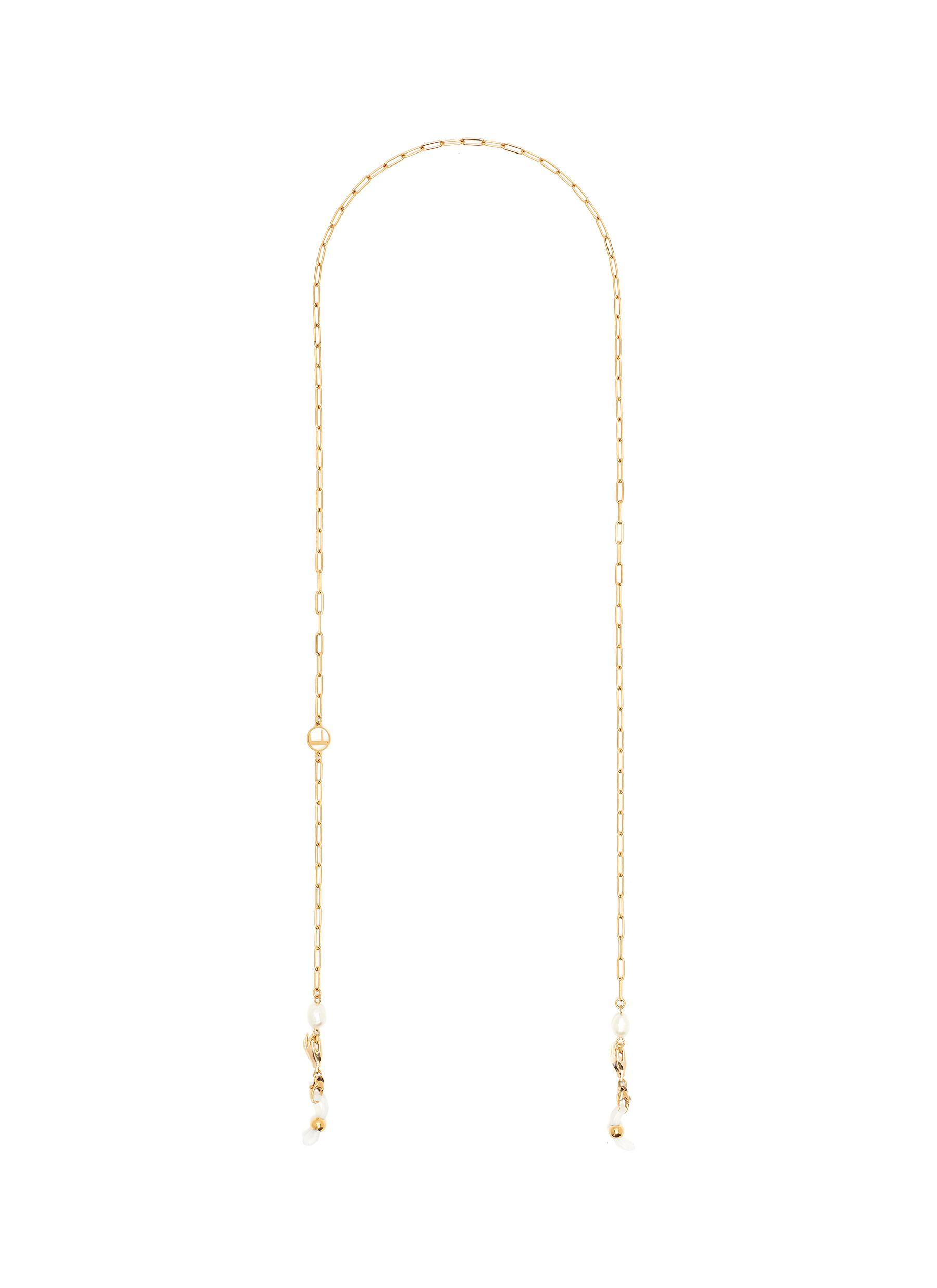 Buddha' 18k Gold Plated Oblong Link Eyewear Chain