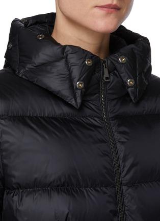 Detail View - Click To Enlarge - MONCLER - 'Boed' Fur Trim Hood Puffer Jacket
