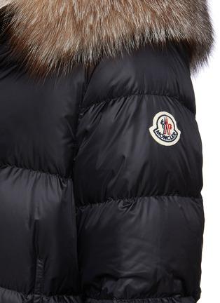 - MONCLER - 'Boed' Fur Trim Hood Puffer Jacket