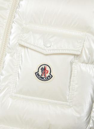- MONCLER - Diotis' Logo Patch Hooded Down Gilet