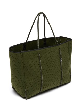 Detail View - Click To Enlarge - STATE OF ESCAPE - 'Flying Solo' sailing rope neoprene tote