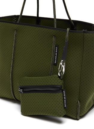 - STATE OF ESCAPE - 'Flying Solo' sailing rope neoprene tote