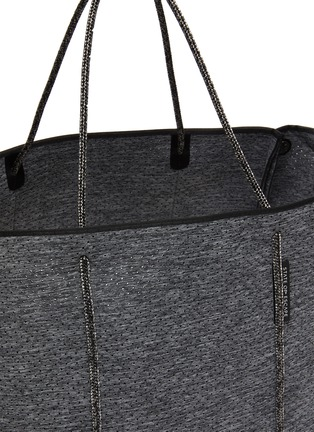 Detail View - Click To Enlarge - STATE OF ESCAPE - 'Escape' sailor rope neoprene tote