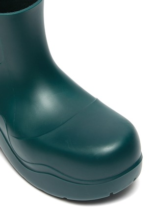 Detail View - Click To Enlarge - BOTTEGA VENETA - Puddle' Rubber Ankle Boots