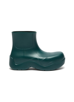 Main View - Click To Enlarge - BOTTEGA VENETA - Puddle' Rubber Ankle Boots