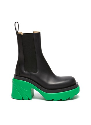 Main View - Click To Enlarge - BOTTEGA VENETA - Chelsea Chunky Sole Ankle Boots