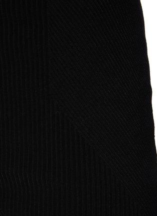 - GAUGE81 - Fasnia' Slit Appliqued Bodycon Mini Skirt