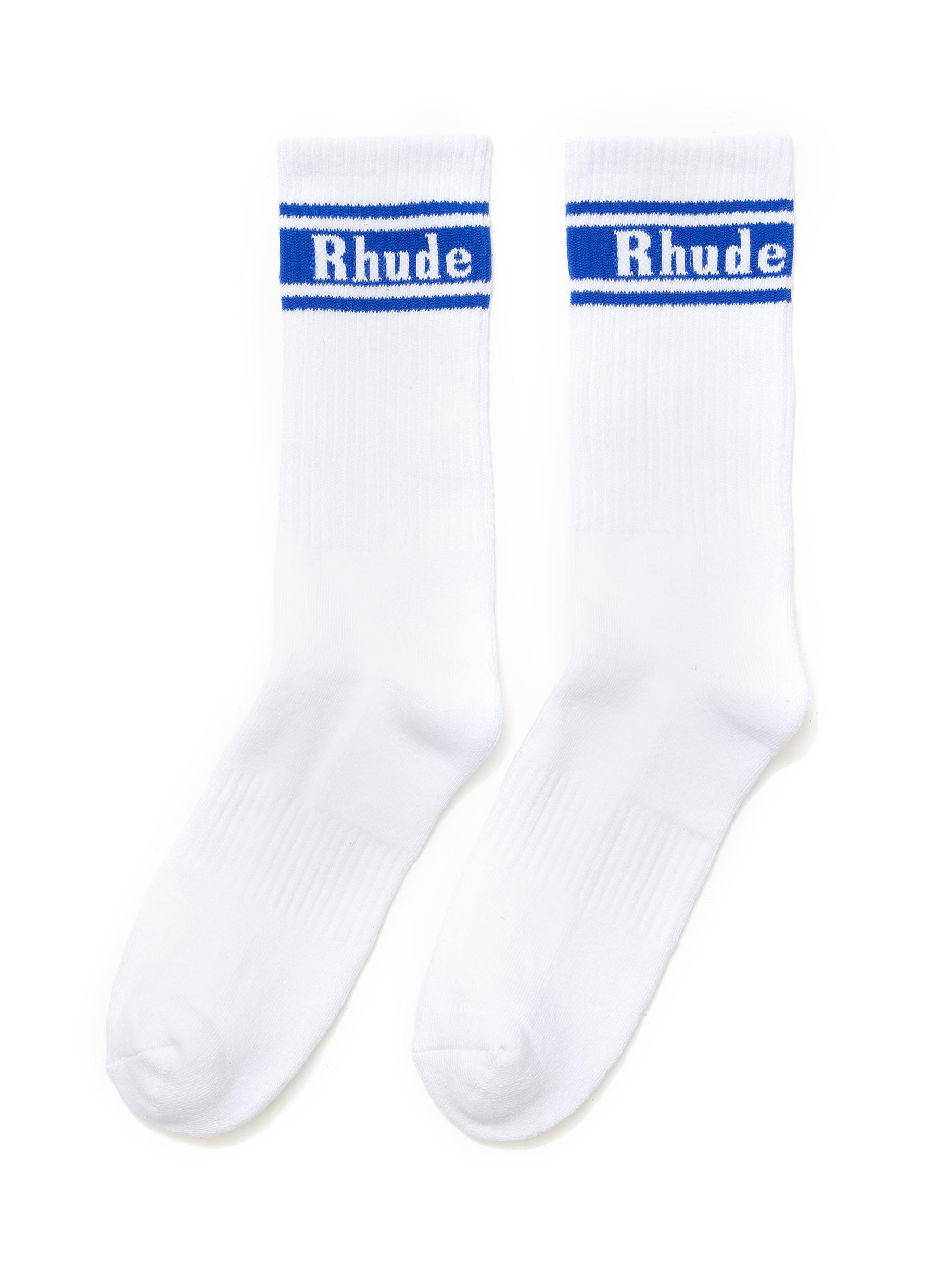 x McLaren Logo Stripe Cotton Blend Socks