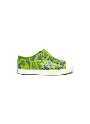 Main View - Click To Enlarge - NATIVE - Toddlers Camo Print Jefferson EVA Slip-On