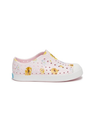 Main View - Click To Enlarge - NATIVE - Toddlers Floral Print Jefferson EVA Slip-On