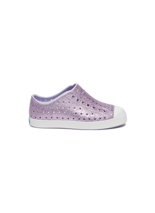 Main View - Click To Enlarge - NATIVE - Toddlers Bling Jefferson EVA Slip-On
