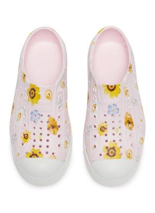 Figure View - Click To Enlarge - NATIVE - Kids Floral Print Jefferson EVA Slip-On