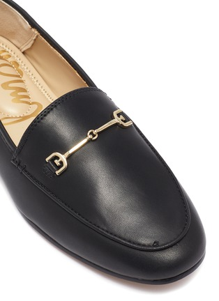 Detail View - Click To Enlarge - SAM EDELMAN - Loraine' Mini Leather Horsebit Loafers