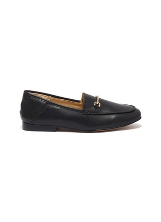 Main View - Click To Enlarge - SAM EDELMAN - Loraine' Mini Leather Horsebit Loafers