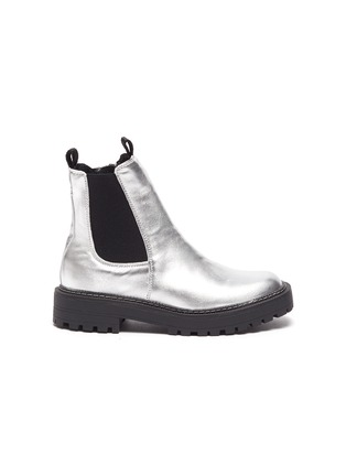Main View - Click To Enlarge - SAM EDELMAN - Laguna' Mini Metallic Chelsea Boots