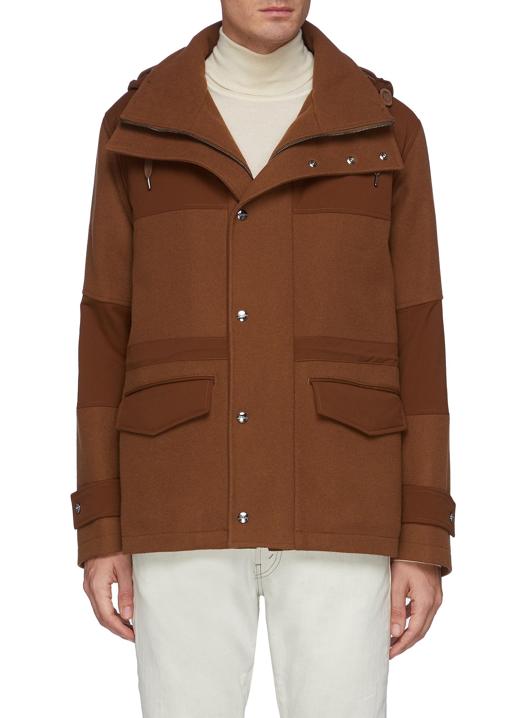 Detachable Hood Herno-Tech Jacket - HERNO - Modalova