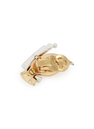 Detail View - Click To Enlarge - LANE CRAWFORD VINTAGE ACCESSORIES - Mazer diamanté earrings