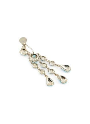 Detail View - Click To Enlarge - LANE CRAWFORD VINTAGE ACCESSORIES - Wiesner diamanté chandelier earrings