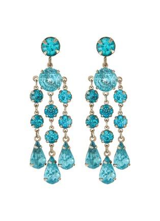 Main View - Click To Enlarge - LANE CRAWFORD VINTAGE ACCESSORIES - Wiesner diamanté chandelier earrings
