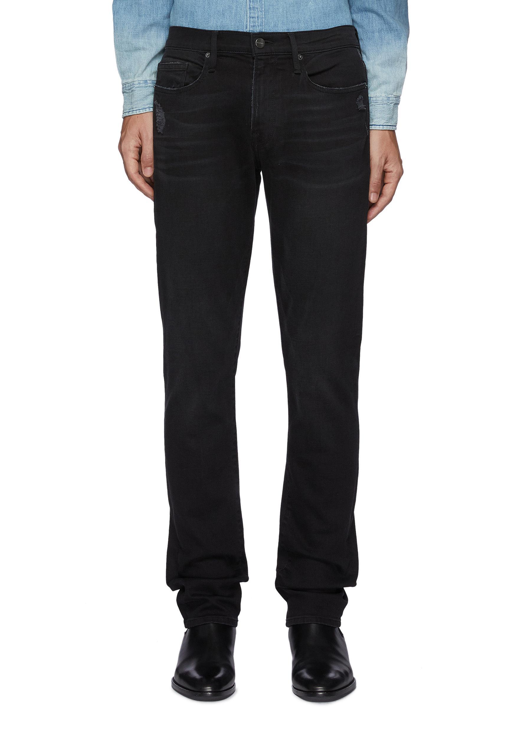 L'Homme Slim Fit Dark Washed Jeans