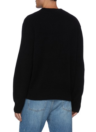Back View - Click To Enlarge - FRAME DENIM - The Crewneck Cashmere Sweater