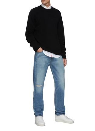 Figure View - Click To Enlarge - FRAME DENIM - The Crewneck Cashmere Sweater
