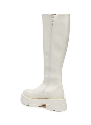 - BOTH - Gao Combat Platform Leather Boots