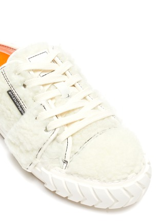 Detail View - Click To Enlarge - BOTH - Tyres' Shearling Slip On Sneakers